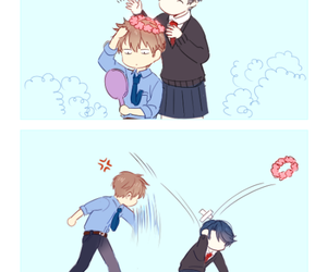 anime, gekkan shoujo nozaki-kun, and funny image