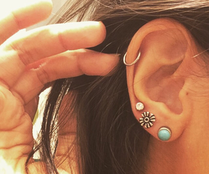 blue, hippie, and piercing image