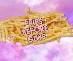 feelings, fries, and food image