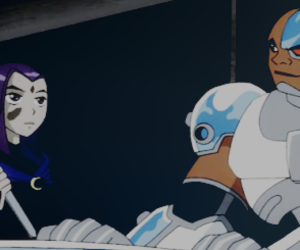 cyborg, lol, and raven image