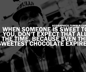 chocolate, dont, and expect image