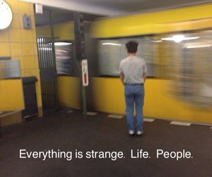 life, yellow, and grunge image