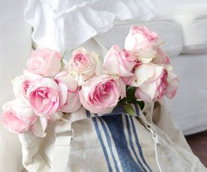 roses, bouquet, and flowers image