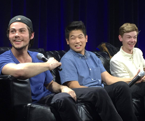 the maze runner and cast image