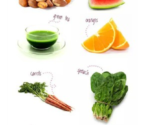 acne, diet, and fitness image
