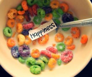 cereal, happiness, and colours image
