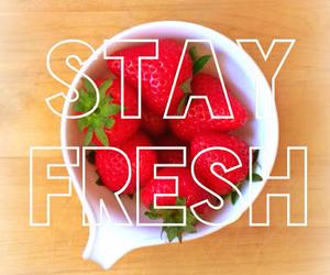 strawberry, fresh, and fruit image