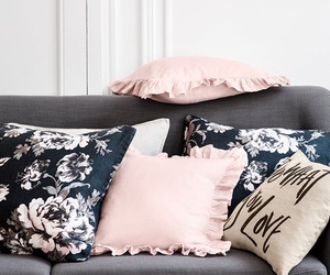 room, home, and pillow image