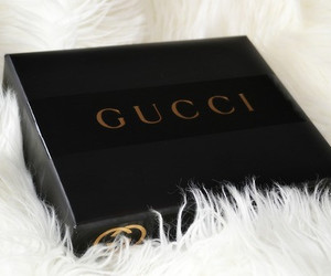 gucci, luxury, and black image