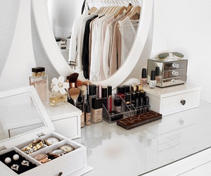 makeup, beauty, and room image