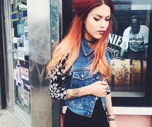 beauty, tumblr, and grunge fashion image