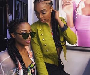 braids, girls, and beauty image