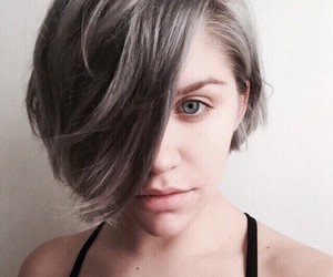 hair, short hair, and style image
