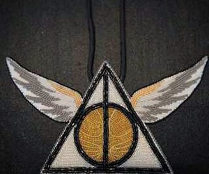 muerte, potter, and harry image