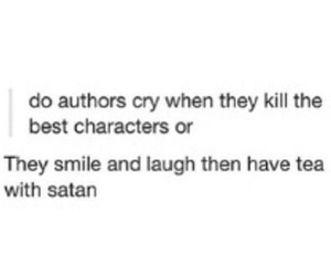 book, author, and satan image