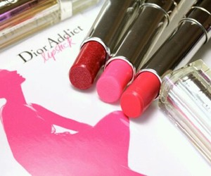 lipstick, dior, and pink image