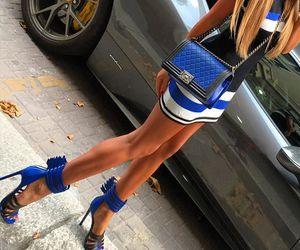 luxury, style, and blue image