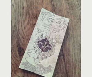 books, harry potter, and map image