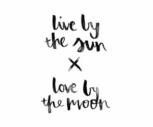 quotes, moon, and love image