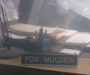 david duchovny, fox mulder, and man image