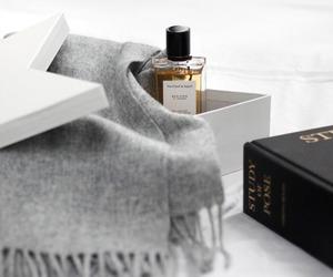 perfume, luxury, and scarf image
