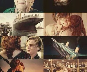 titanic, love, and movie image