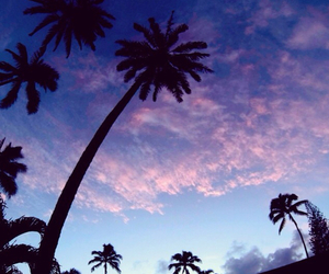 sky, summer, and purple image