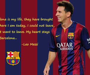 messi and love image