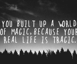 magic, life, and tragic image