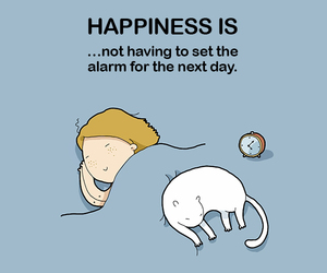 sleep, cat, and happiness image