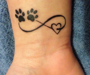 infinity, tattoo, and love image