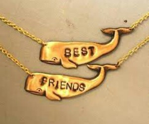 friends, whale, and forever image
