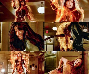 kira and teen wolf lydia fire image