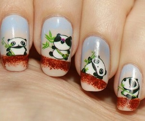 panda and nails image