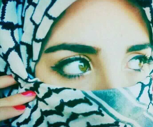 arabic, beautiful, and eyes image