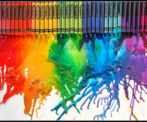 art and crayola image