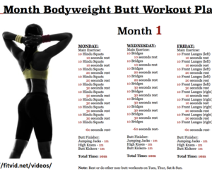 workout routines image