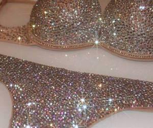 glitter, luxury, and sexy image