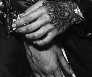 hands, one direction, and tattoo image