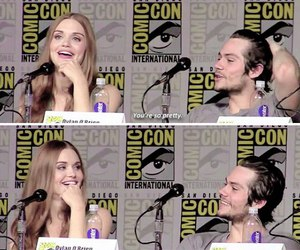 quote, holland roden, and dylan o'brien image