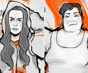 tiffany, orange is the new black, and pennsatucky image