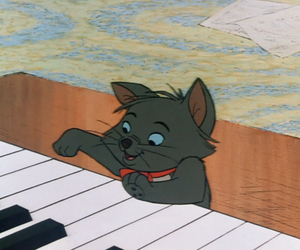 disney, piano, and the aristocats image