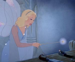 pinocchio, blue fairy, and disney image