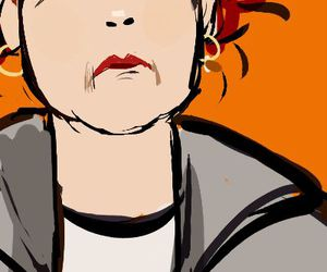 red, orange is the new black, and galina reznikov image