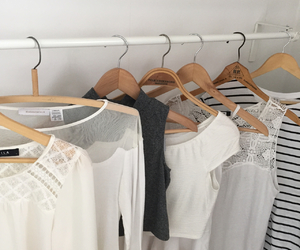 chic, clothing, and rack image