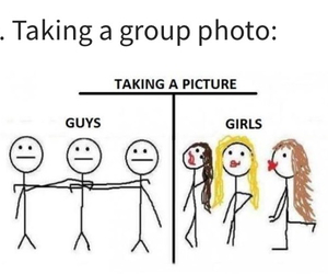 boys, funny, and girls image