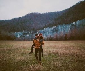 love, couple, and indie image
