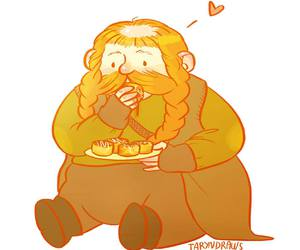 dwarf, the hobbit, and bombur image