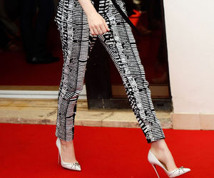emma stone, red carpet, and pants image