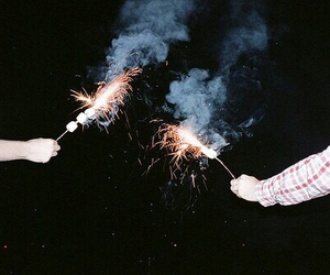 grunge, fireworks, and indie image